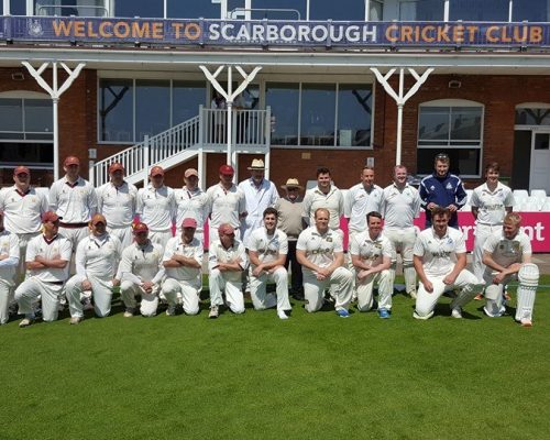 Rob Stephenson Trust game Scarborough. Thanks to Andrew Green family and friends