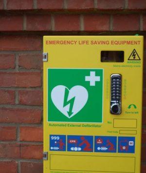 Defibrillator for Thornton Dale Cricket Club
