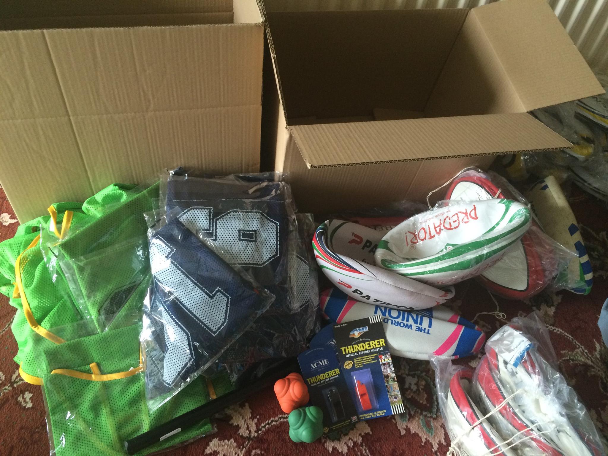 Donation to Mongolian RUFC