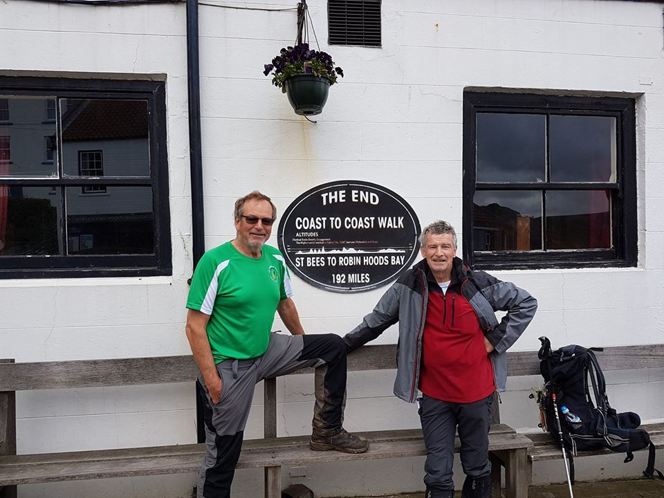 Chris & Joss Wood Coast to Coast Walk