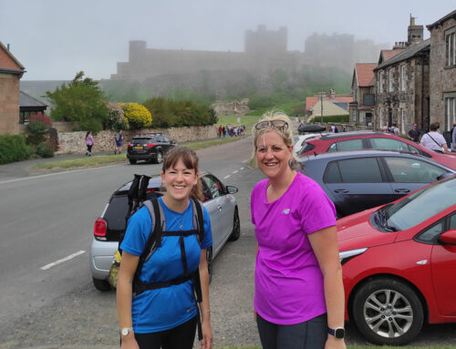 Blisters on Blisters in Northumberland Trust Walk