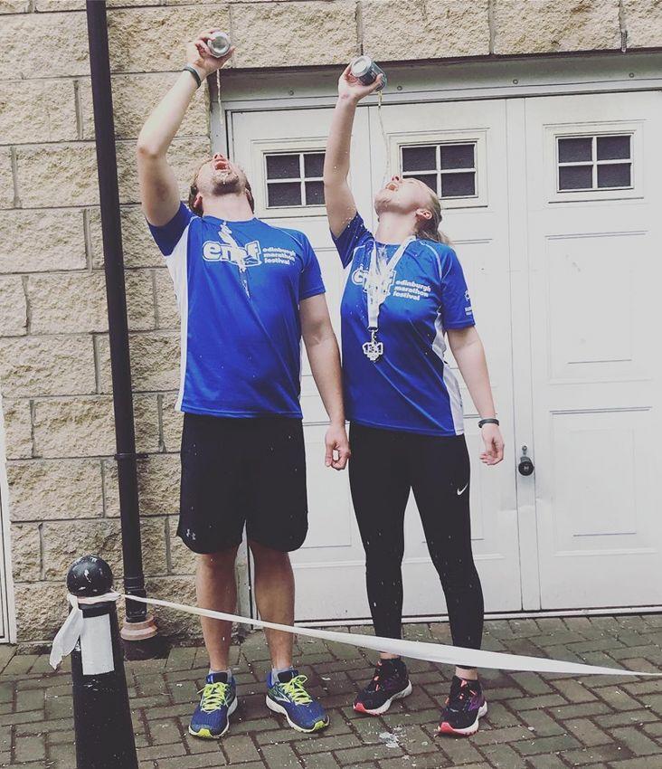 Sam Stephenson Edinburgh Half Marathon