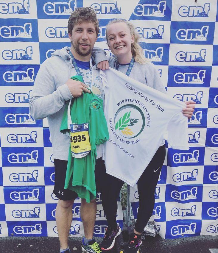 Sam Stephenson Edinburgh Half Marathon3