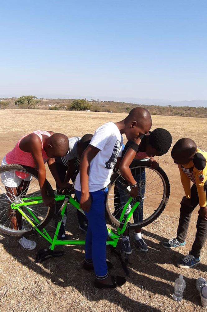 South Africa Bike Project