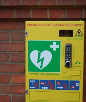 Defibrillator for Thornton Dale Cricket Club