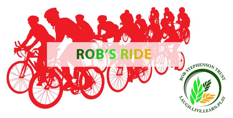 Rob's Ride Sponsored Cycle Ride